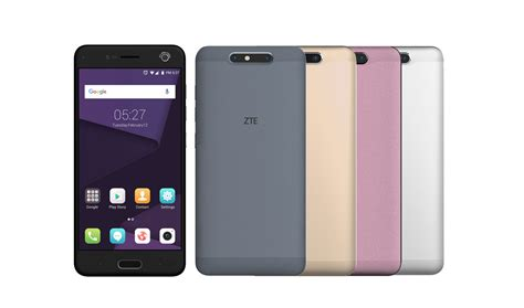 Zte Ram 4gb zte blade v8 with 4gb ram android 7 0 debuts in china the gadgets freak tgf