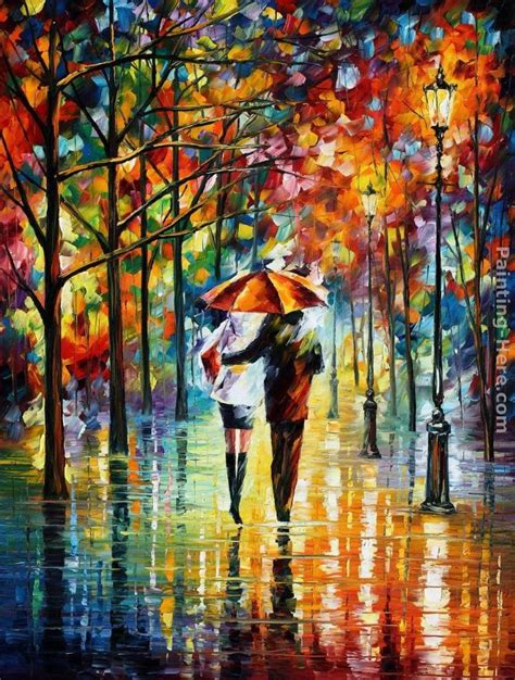 umbrella painting leonid afremov the umbrella painting anysize 50