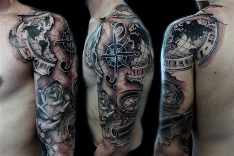 quarter sleeve vs half sleeve tattoo top 100 best sleeve tattoos for men cool designs and ideas