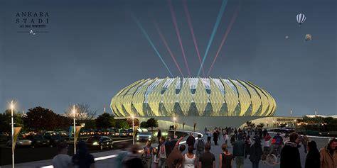 Design Site by Ankara Stadium A Architectural Design