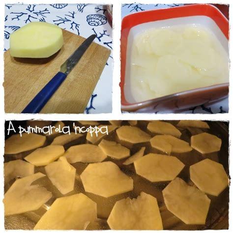 come cucinare le patate al microonde chips di patate al microonde a pummarola ncoppa