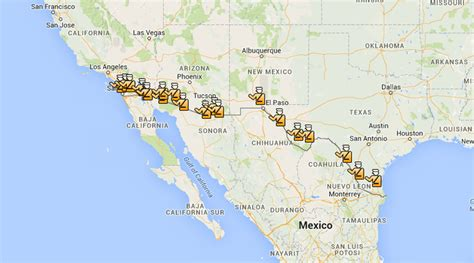 border patrol checkpoints map texas there s a map for that maps help illegal immigrants locate border checkpoints rt america