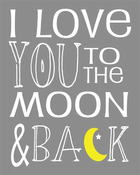 i love you to the moon and back art i love you to the moon and back subway art by