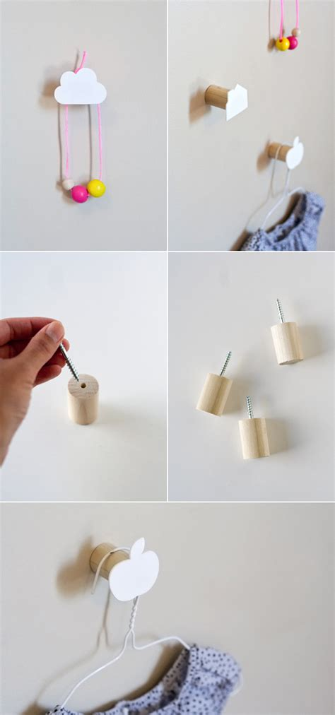 Wall Hooks Diy Diy Decorative Wall Hooks Pictures Photos And Images For