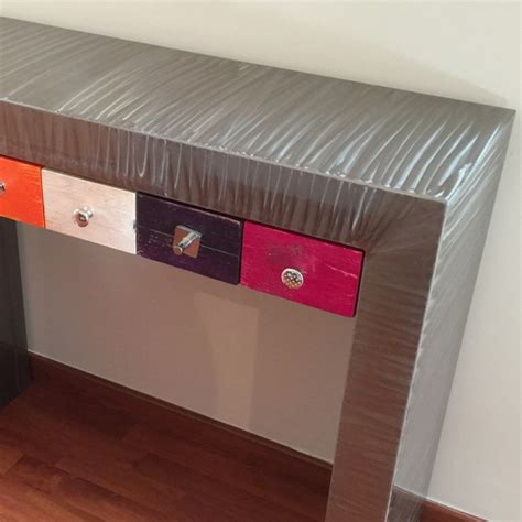 console avec tiroirs multico console tiroir console design