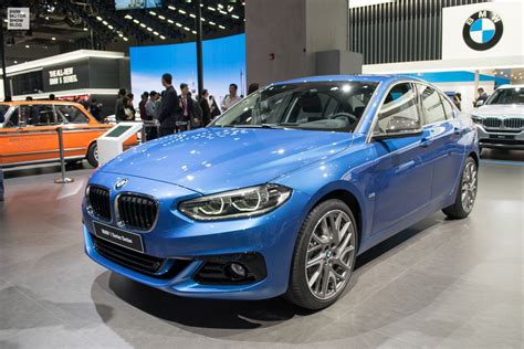 1 Series Bmw Bmw 1 Series Sedan In Debuts At Shanghai Motor Show