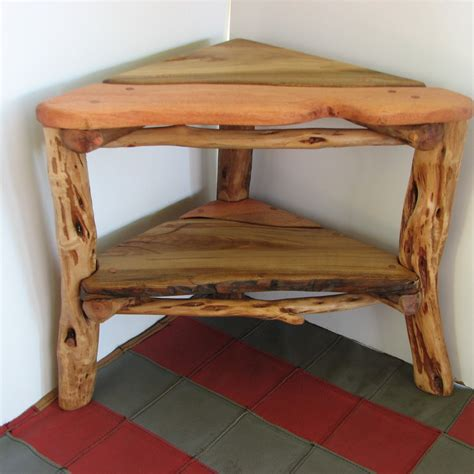 corner table ideas furniture unique rustic corner table designs for any room