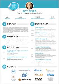 creative graphic design resume template sample psd format