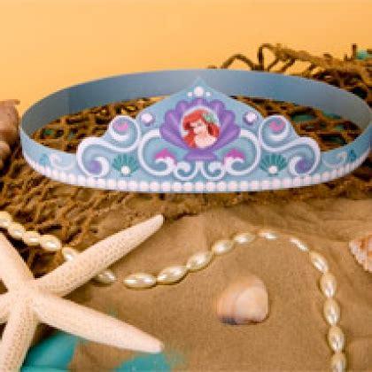 free printable mermaid crown ariel s crown disney family