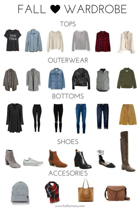 fall wardrobe essentials fall capsule wardrobe 2016 fall