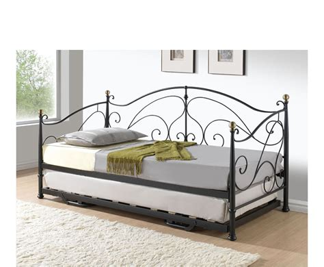 metal trundle bed frame loretto daybed with pop up trundle unit bed mattress sale