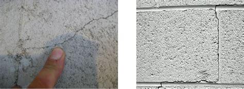 How To Repair Hairline Cracks In Concrete Block Walls