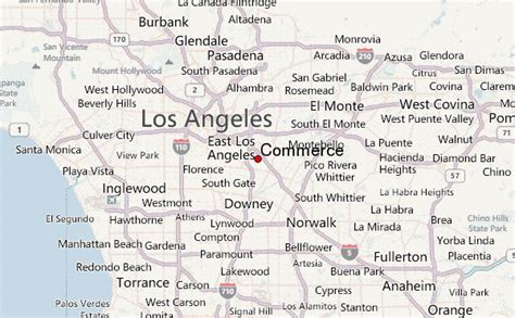 Weather For Bell Gardens by Bell Gardens Mapa De Ubicaci N Los Angeles County California