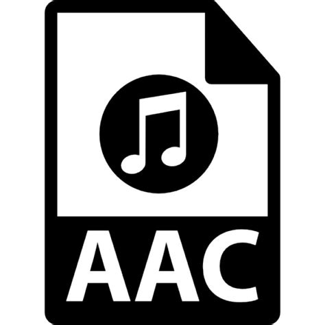 Format File Aac | aac file format icons free download