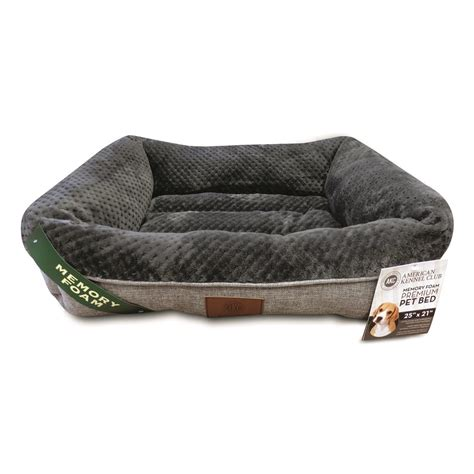 cuddler dog bed akc memory foam cuddler dog bed 690246 kennels beds