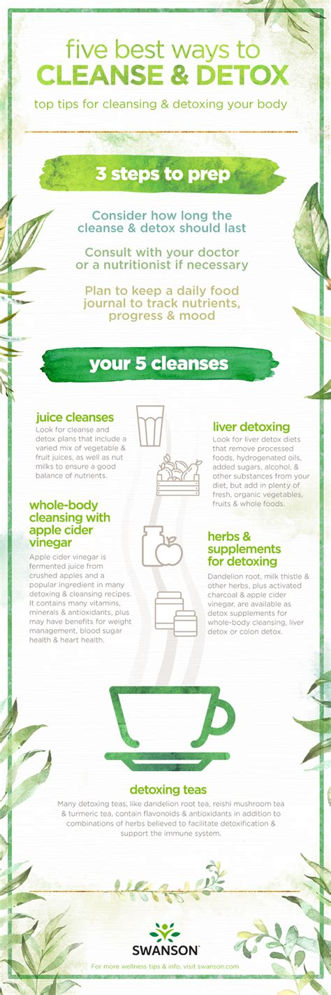 Cleanse Or Detox by Best Way To Detox Plus Detox Teas And How To Detox Your Liver