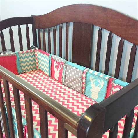 woodland baby quilts and nursery bedding with deer