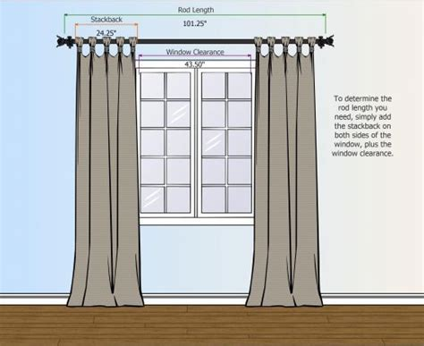 how to measure curtain rod width curtain rods curtains and curtain rods online on pinterest