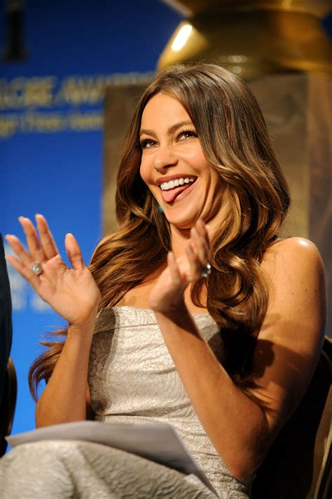 sofa v sofia vergara at golden globe awards nominee announcement