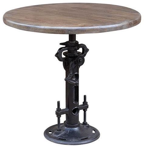 gear table gear adjustable dining table 36 quot eclectic dining