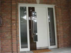 Contemporary Front Doors With Sidelights Exterior Door Model A250 With Two Sidelights Contemporary Front Doors New York By