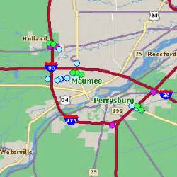 Maumee Ohio Map by Maumee Oh Hotel Rates Comparison Amp Reservations Guide Map