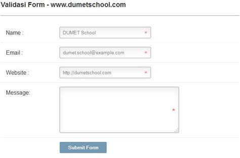 membuat form dengan html dan css membuat validasi form menggunakan html dan css