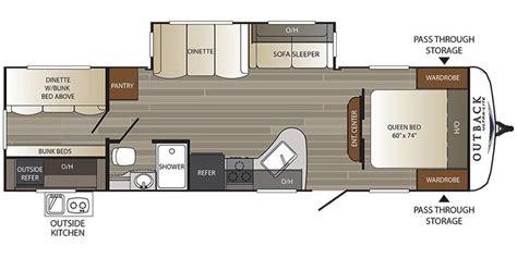 2018 keystone outback travel trailer floorplans genuine rv 2018 keystone outback travel trailer floorplans genuine rv