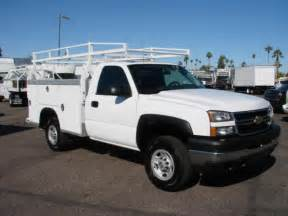 Chevrolet Utility Truck For Sale Chevrolet 2500 Hd 2007 Chevrolet 2500 Hd Service