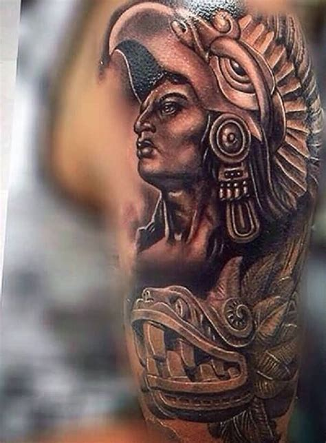 aztec gods tattoos 45 aztec designs truetattoos