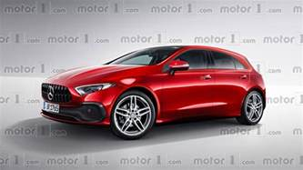 Mercedes Classe A New Mercedes A Class Render Transforms Sedan Concept Into