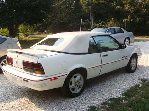 auto air conditioning repair 1994 pontiac sunbird security system buy used 1994 pontiac sunbird le convertible 2 door 2 0l in eastham massachusetts united states