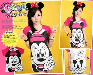 Setelan Anak Mickey And Minnie Mouse baju karakter anak dan abg kaos stelan jaket mickey