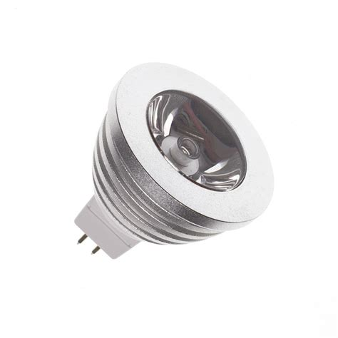 gu 5 3 led gu5 3 mr16 60 186 3w rgb led l 12v dc ledkia united