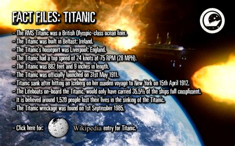titanic film unknown facts doctor who online vortextra 4 0 titanic facts