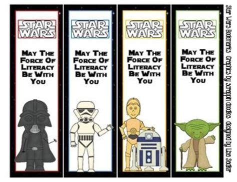 printable bookmarks star wars star wars bookmarks 4 designs