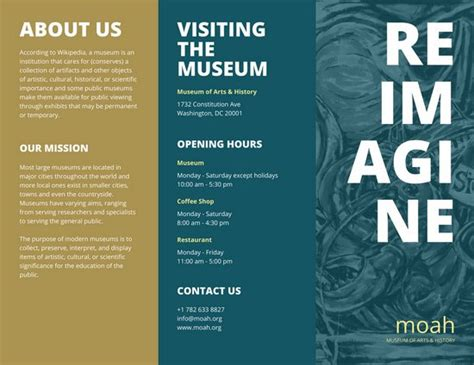 Museum Flyer Template