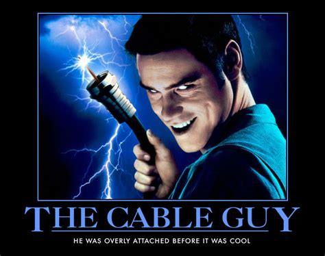 Cable Meme - the cable guy jim carrey know your meme