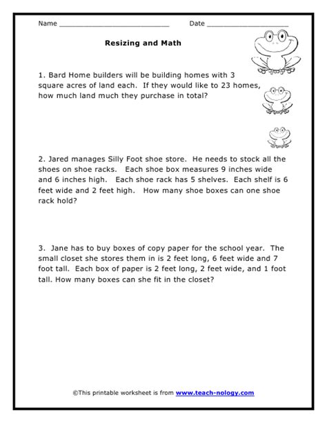 Fifth Grade Math Word Problems 5th Mark Numbers Word Of