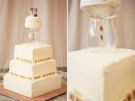 scrabble wedding cake handmade scrabble wedding mimi ben green wedding