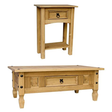 Pine Console Table Corona Coffee Table With Drawer Console Table Mexican Pine Furniture Ebay
