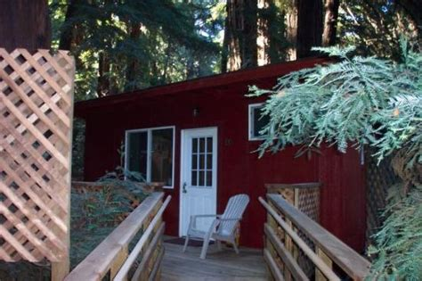 our cabin at the riverside cgrounds big sur picture