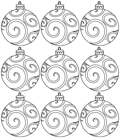 printable christmas ornaments for toddlers ornament crafts for printables printable pages