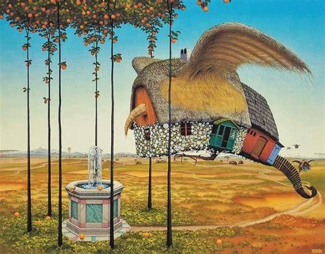 Yerka Paints Like An by Stunning Surreal Paintings By Jacek Yerka Will Play Tricks
