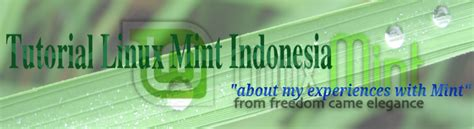 tutorial linux mint indonesia tutorial linux mint indonesia