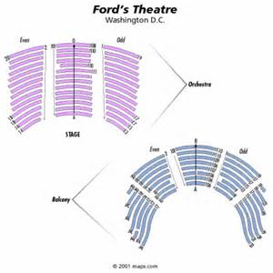 ford s theatre seating chart ford s theatre tickets ford