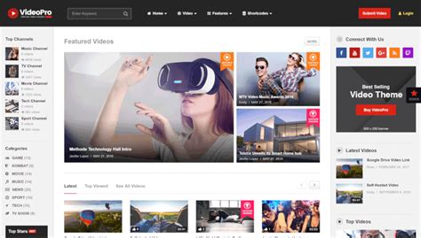 youtube themes gallery fine wordpress video gallery template images exle
