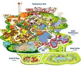 plan port aventura coaster