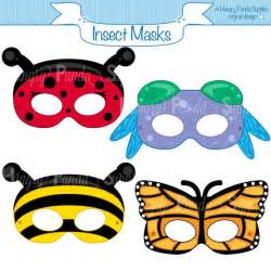 children s mask templates insects printable masks insect masks ladybug mask bee