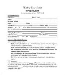 record label contracts templates 9 contract templates free word pdf documents